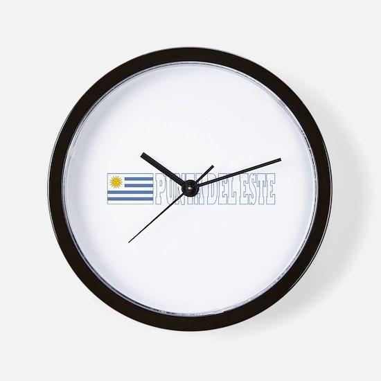 Punta del Este, Uruguay Wall Clock