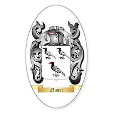 Nussi Sticker (Oval)