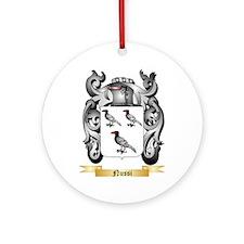 Nussi Round Ornament