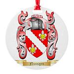 Nussgen Round Ornament