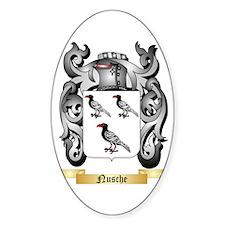 Nusche Sticker (Oval)