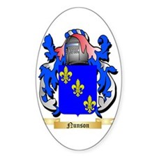 Nunson Sticker (Oval)