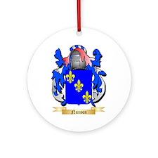 Nunson Round Ornament