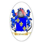 Nuno Sticker (Oval 50 pk)