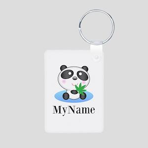 Panda (p) Keychains