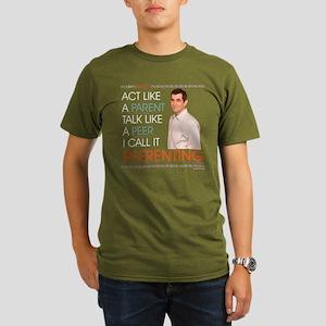 Modern Family Peerent Organic Men's T-Shirt (dark)