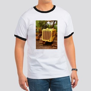vintage yellow tractor T-Shirt