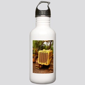 vintage yellow tractor Stainless Water Bottle 1.0L