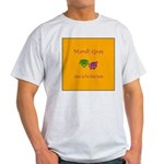 Mardi Gras Masks Rouler Light T-Shirt
