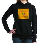 Mardi Gras Masks Rouler Women's Hooded Sweatshirt