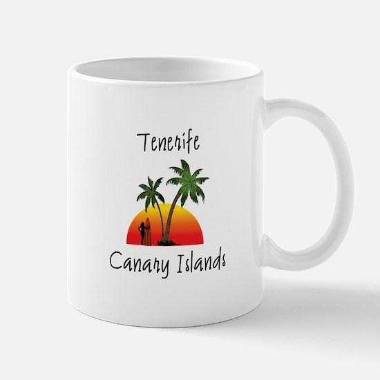 Tenerife Canary Islands Mugs