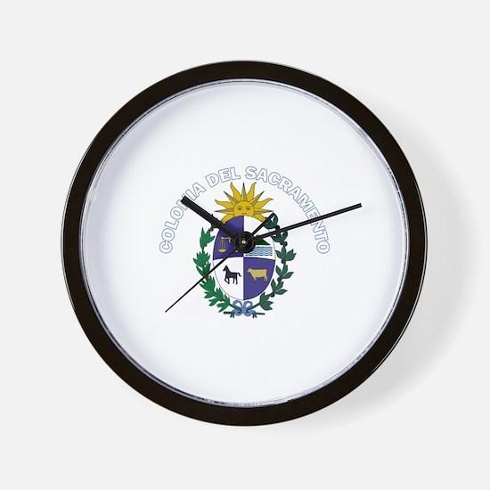Colonia del Sacramento, Urugu Wall Clock