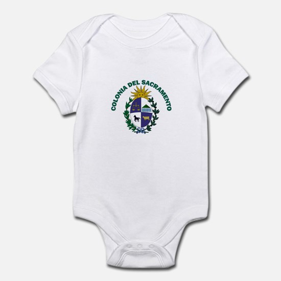 Colonia del Sacramento, Urugu Infant Bodysuit