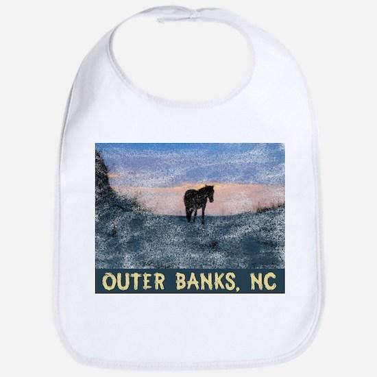 Outer Banks Dune Wild Horse Bib