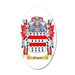 Nugent 35x21 Oval Wall Decal