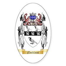 Nucklaus Sticker (Oval)