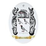 Nuccitelli Oval Ornament