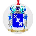 Noyes Round Ornament