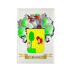 Noyer Rectangle Magnet (100 pack)