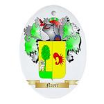 Noyer Oval Ornament