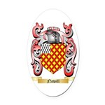 Nowill Oval Car Magnet
