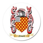 Nowill Round Car Magnet