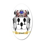 Nowell 35x21 Oval Wall Decal
