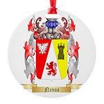Novoa Round Ornament