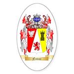 Novoa Sticker (Oval 50 pk)