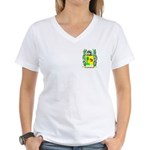 Nougier Women's V-Neck T-Shirt