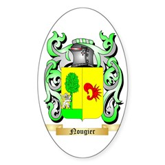 Nougier Sticker (Oval 50 pk)