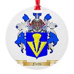 Notts Round Ornament