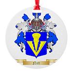 Nott Round Ornament