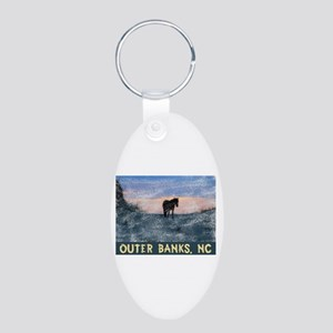 Outer Banks Dune Wild Horse Keychains