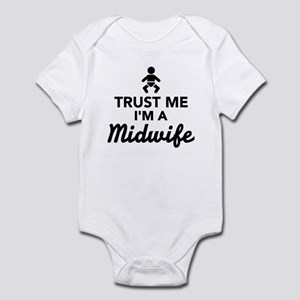 Trust me I'm a Midwife Infant Bodysuit