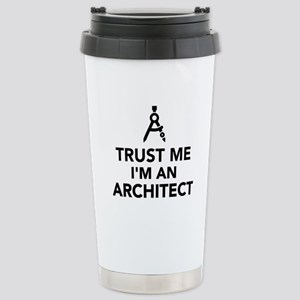 Trust me I'm an Archite Stainless Steel Travel Mug
