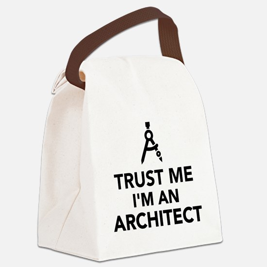 Trust me I'm an Architect Canvas Lunch Bag