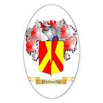 Nosworthy Sticker (Oval 50 pk)