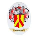Nosworthy Oval Ornament