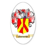 Noseworthy Sticker (Oval 50 pk)