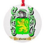 Norton Round Ornament