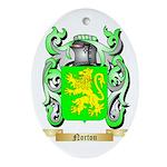 Norton Oval Ornament