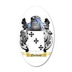 Northcutt 20x12 Oval Wall Decal