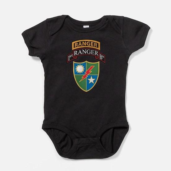 Cute Scroll Baby Bodysuit