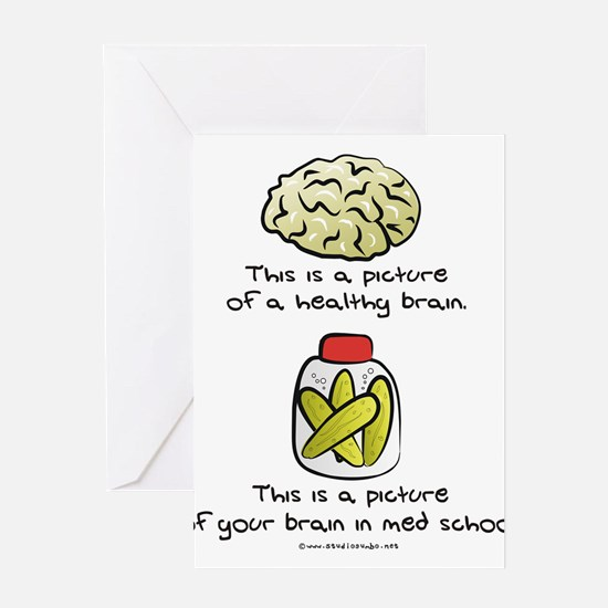 Funny Medical doctor Greeting Card