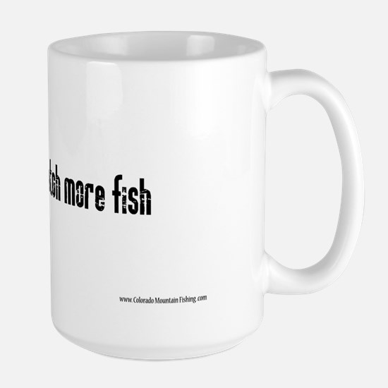 Master Baiters catch more fis Large Mug
