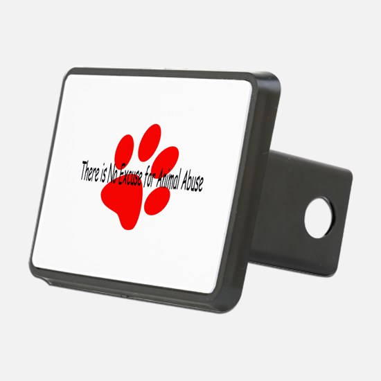 no-excuse-red.psd Hitch Cover