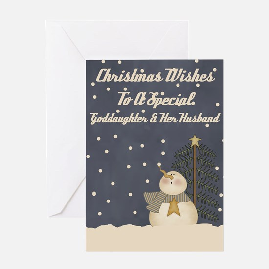 Goddaughter And Her Husband Christmas Card