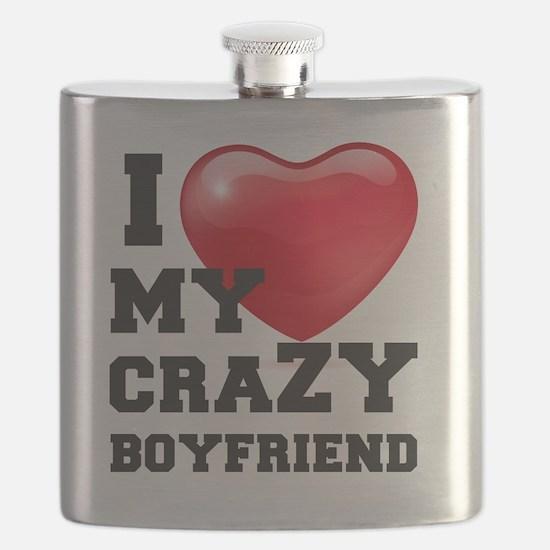 Funny I love my boyfriend Flask