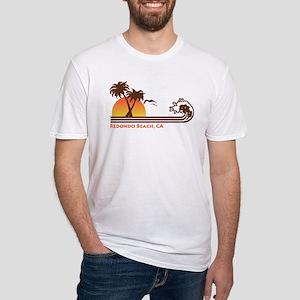 Redondo Beach California Fitted T-Shirt